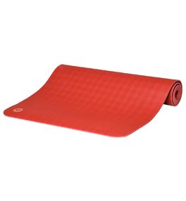 ECOPRO DIAMOND 6mm červený pomeranč - kaučuková jóga podložka