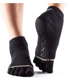 Ponožky ToeSox Ankle - černé