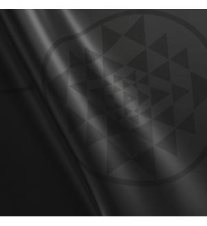 PHOENIX Yantra černá - podložka na jógu