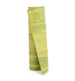 GANGES - zeleno-žlutá 6mm jóga podložka