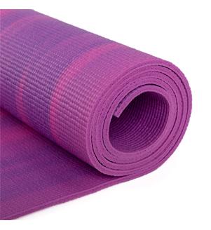 GANGES - růžová 6mm jóga podložka