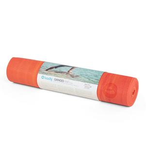 GANGES - červeno-oranžová 6mm jóga podložka