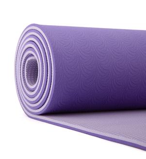 LOTUS PRO lila - podložka na cvičení jógy