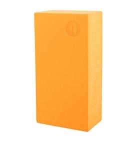 Cihlička na jógu EVA - oranžová
