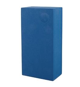 Cihlička na jógu EVA - modrá